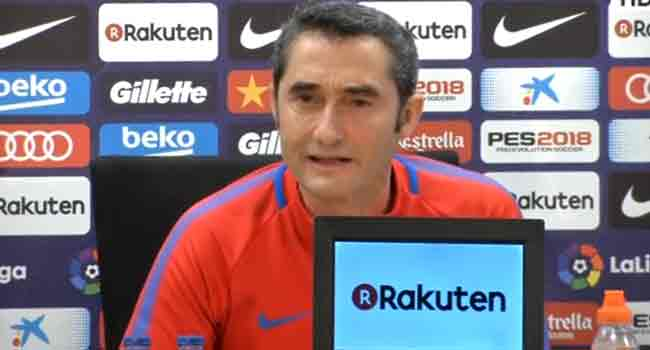 El Clasico: Our Intention Is To Win At Bernabeu – Valverde