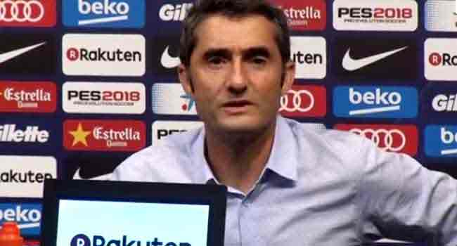 Valverde Tells Barcelona To Forget Roma Collapse