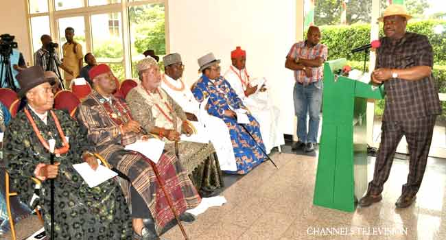 Confer Titles On 'Very Credible' Persons, Wike Tells Traditional Rulers