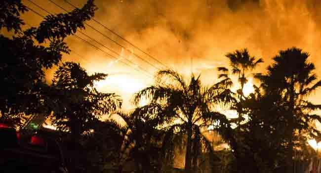 Fire Destroys Part Of Main Bamako Market