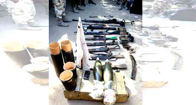 Troops Recover Arms, Vehicles From Boko Haram Members