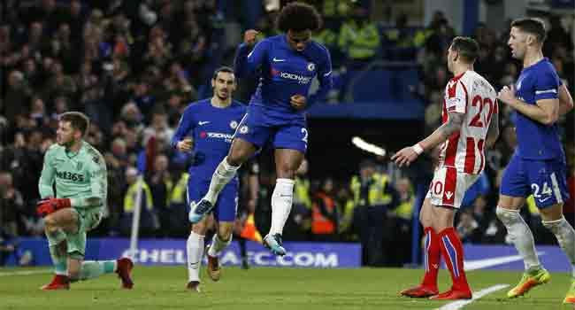 Chelsea Crush Stoke City 5 – 0