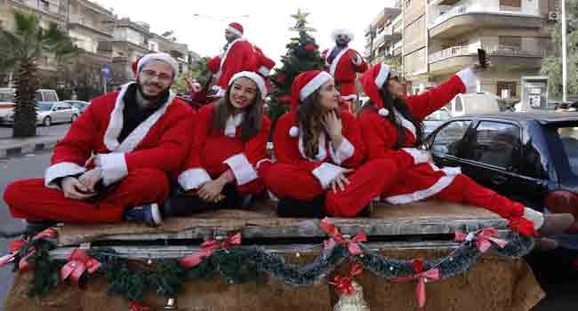 Colourful Christmas Eve Celebration Across The World