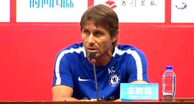 Conte Keen Not To Lose Hazard, Courtois