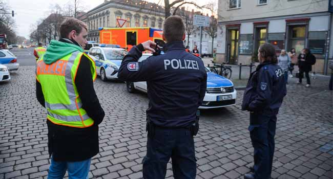 German Police Find 'Explosive' Near Potsdam Xmas Market