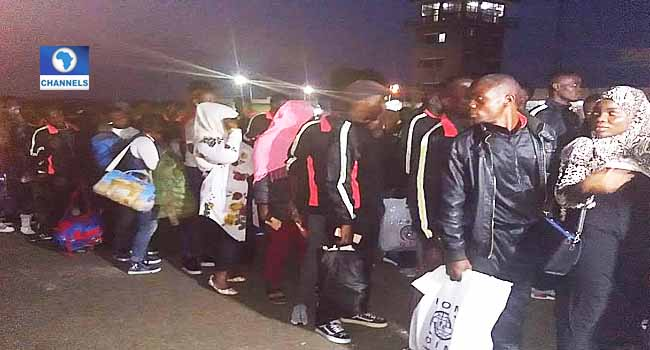Another 257 Nigerians Return From Libya