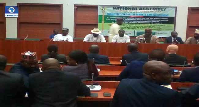 Reps Shift Public Hearing On Suspended DG Of SEC