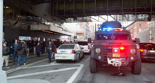 Four Hurt In 'Attempted Terror' Blast In New York Subway