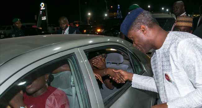 Fuel Scarcity: Osinbajo, Kachikwu Meet With Oil Marketers
