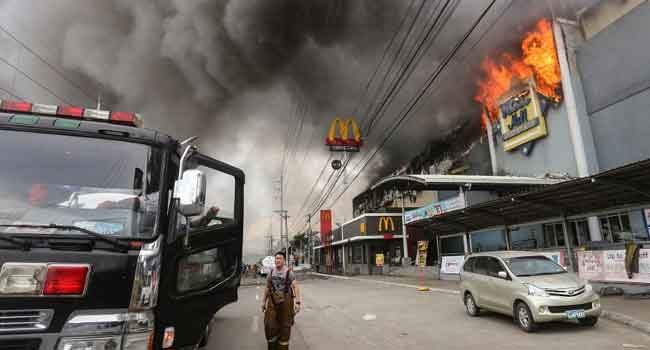 Over 30 Bodies Found In Burnt Philippine Mall – Fire Chief