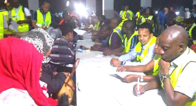 NEMA Receives 160 More Libya Returnees