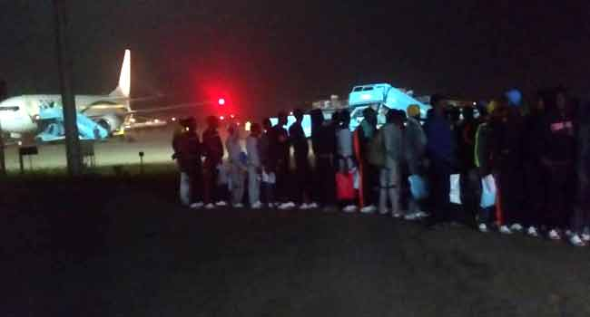 180 More Nigerians Return From Libya