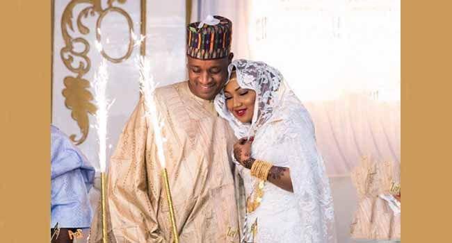 Buhari's Daughter Celebrates Husband On Birthday