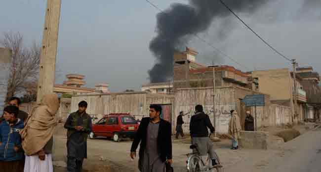 Gunmen Attack 'Save The Children' Office In East Afghanistan