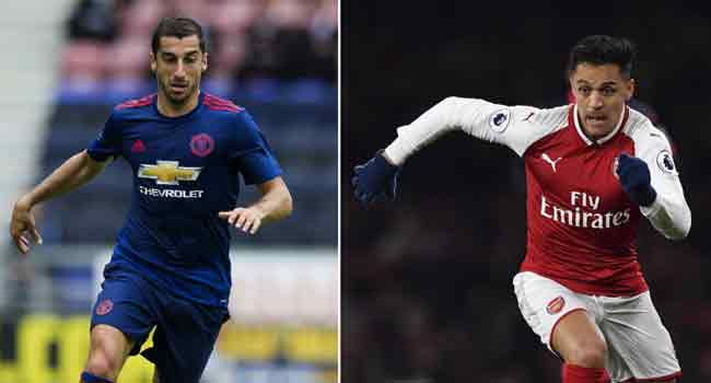 Manchester United Confirm Sanchez Signing, Mkhitaryan Heads To Arsenal