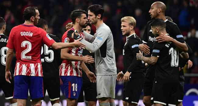 Costa Strike Not Enough As Sevilla Down Atletico