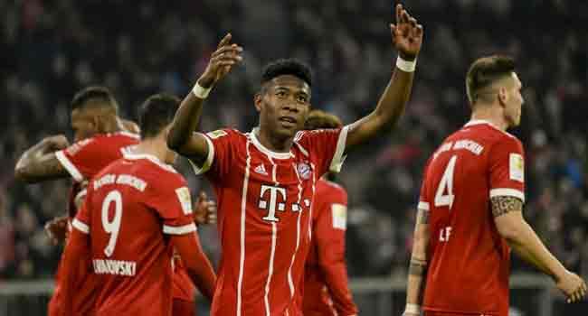 Bayern Roar Back To Floor Hoffenheim