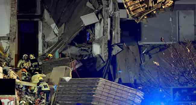 14 Injured In Suspected Gas Explosion In Belgium