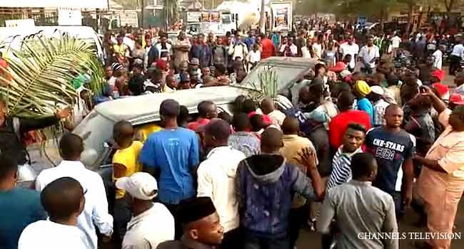 Alleged Herdsmen Killing Of 33 Persons Sparks Protest In Benue