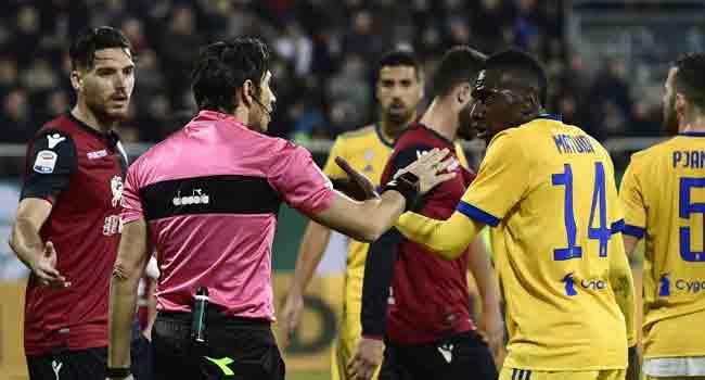 Cagliari Apologise To Matuidi For Fan Racism