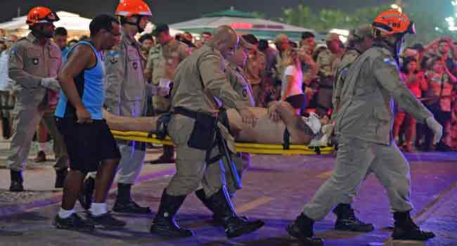 Brazil's Copacabana Car Accident Kills Baby, Injures 17