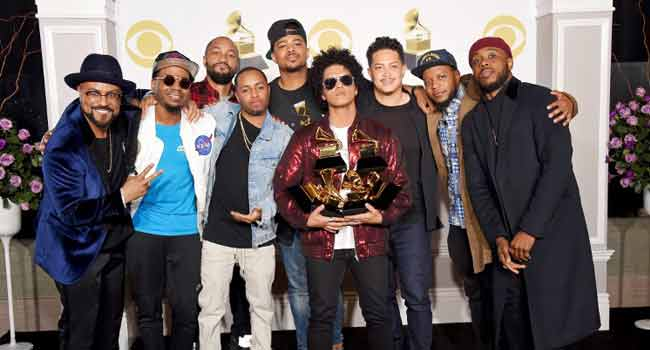 Bruno Mars Grammy Award Sweep Sparks Criticisms