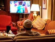 Buhari Watches Nigeria Beat Angola To Reach CHAN Semis