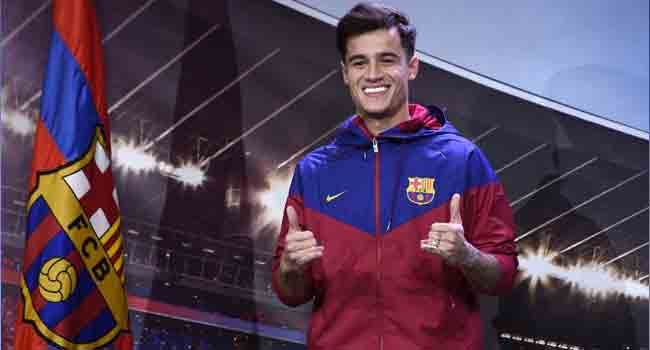 Coutinho Starts For Barcelona In Champions League Clash Against Lyon