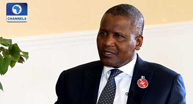 Dangote Projects Economic Growth After Elections