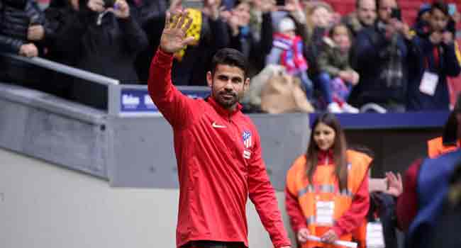 Costa Scores On Atletico Return in Cup Rout
