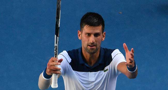 Injury concern for Novak Djokovic as he makes fourth round
