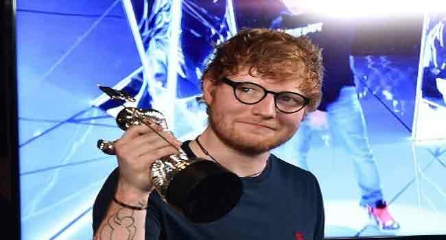 Ed Sheeran Named World's Best-Selling Artist Of 2017