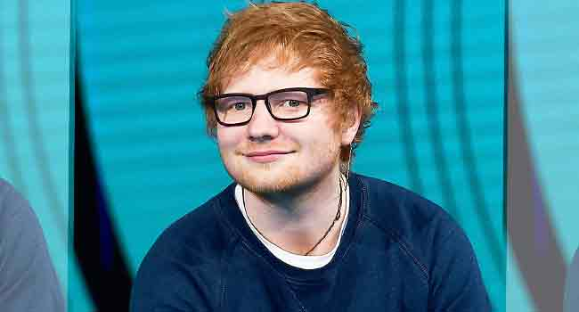 Although Absent, Ed Sheeran Wins Two Pop Grammy Awards