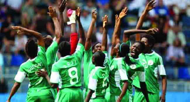 Falconets land in France with six goal victory over South Africa