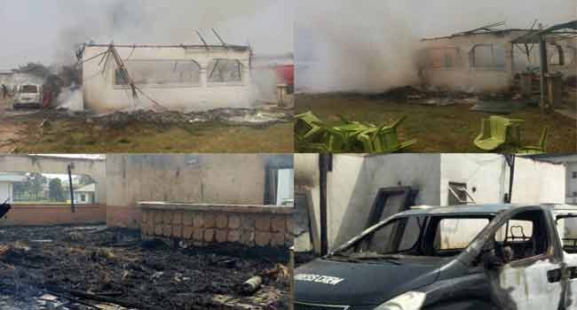 Fire Guts Imo Deputy Governor's Residence
