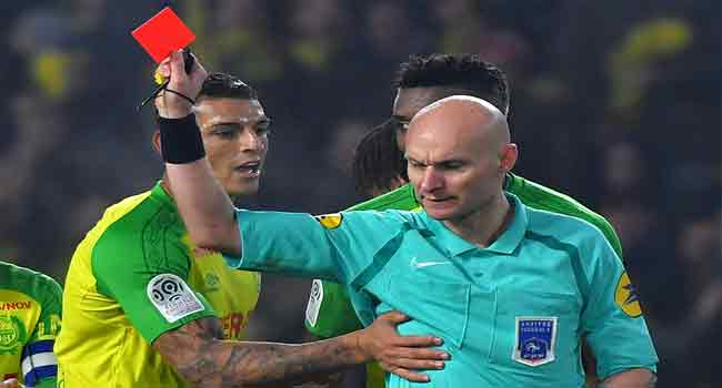 French Football Federation Suspends Referee For Kicking Player