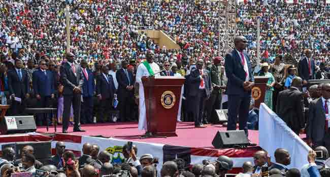 Liberia Jubilates As Football Star, George Weah, Becomes 25th President