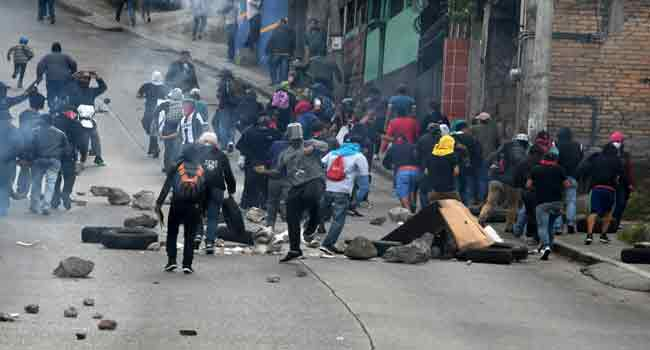 Honduras Roads Blocked In Protests Against Election Results