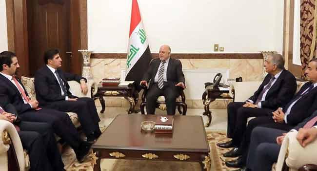 Iraqi, Kurdish PMs Try To Resolve Bitter Dispute