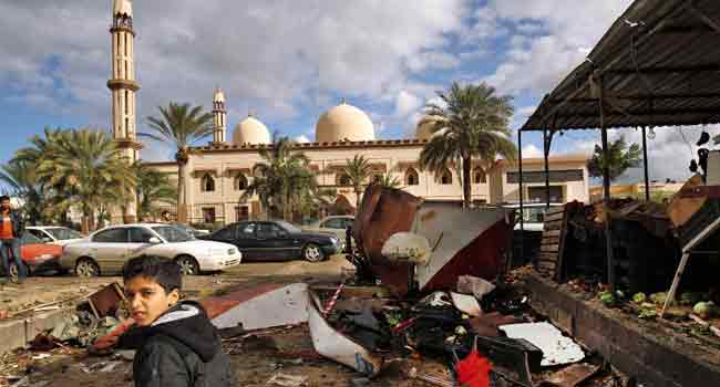 One Dead, 62 Wounded In Mosque Attack In Libya's Benghazi