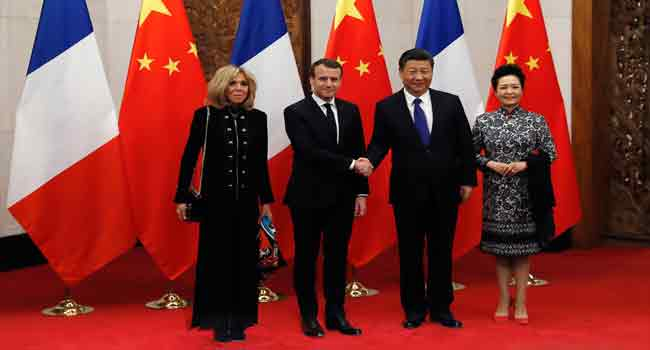 Macron Bets On Horse Diplomacy In China