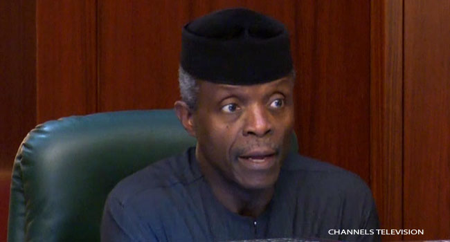 """We're Proud Of You"", Osinbajo Congratulates Teenage Girls Who Won Global Tech Competition"
