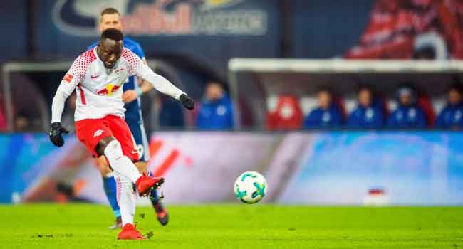 Liverpool-Bound Keita Hits Wonder Goal For Leipzig