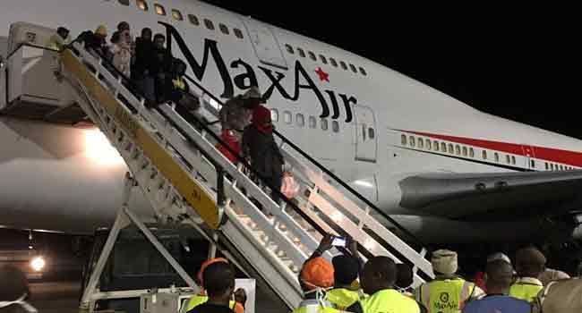 560 More Nigerians Return From Libya