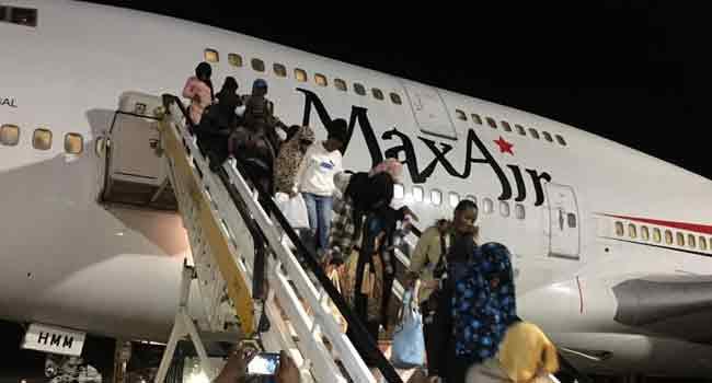 Nigerian returnees from Libya arrive Port Harcourt