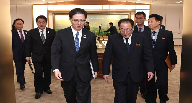 North And South Korea To March Together At Winter Olympics Opening
