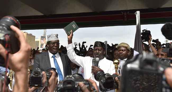 Kenya Deports Miguna Miguna Over Odinga 'Swearing-In'