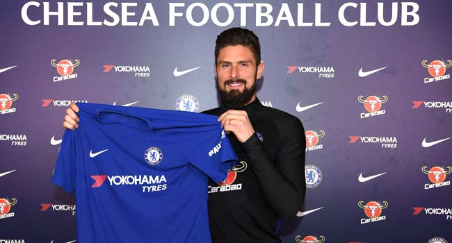 Chelsea Sign Giroud From Arsenal