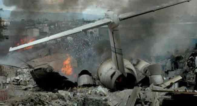 Russian Plane Crash In Syria Kills 32