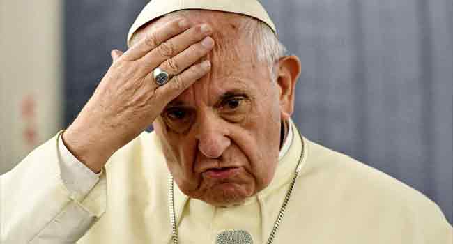 Pope Francis Raises Concern Over Christians In Middle East